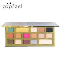 Factory 16 Color Glitter Golden Chocolate Eyeshadow Earth Co...