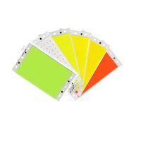 94 * 50MM 15W COB LED Faixa Lâmpada Luz Bulb 12V Branco Vermelho Azul Verde LED Chip On Board para DIY Trabalho Luzes do carro