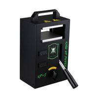 4tons Heat Dab Press Лучший ручной пресс для канифоли LTQ Vapor KP-1 Термопресс Портативный DIY Vape Oil Wax Extractor Tool DHL бесплатно