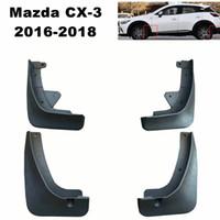 Автомобильные брызговики Брызговики Mud Flap Брызговики Fender для Mazda CX3 CX3 2016 2017 2018 автомобилей Стайлинг Аксессуары