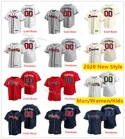 Cousu hommes Lady enfants Greg Maddux 31 29 John Smoltz 47 Tom Glavine 3 Dale Murphy 9 Terry Pendleton 10 Chipper Jones 27 Fred McGriff Maillots