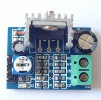 Freeshipping 50PCS / Lot DIY Kit Parts 6-12V Enstaka Strömförsörjning Ljudförstärkare Board Module TDA2030A Modul TDA2030