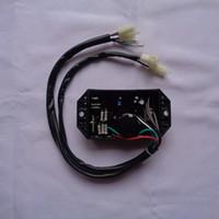 GTDK5-1E3-KP KI-DAVR-50S KIPOR 186F 5KW Dizel Jeneratör Için AVR 10 Hattı Otomatik Voltaj Regülatörü