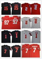 2019 штат Огайо ОСУ Джастин поля # 2 JK Dobbins # 7 Dwayne Haskins JR. # 97 Ник Bosa # 15 Elliott NCAA колледж футбольных изделий