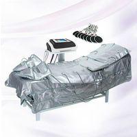 Far Infrared Давление воздуха Прессотерапия машина отопления и EMS мышц Стимулятор для похудения Лимфодренажный