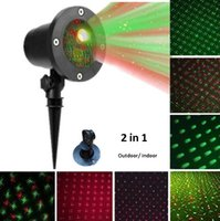 2 in 1 Christmas Laser Projector Full Sky Star lawn lamps Mo...