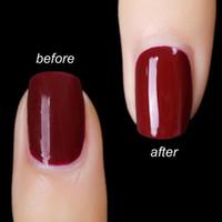Мода Sarness Top Coat Base Coat UV Gel Nails Праймер ногтей гель лак для ногтей 8ML Гель лак Основа Прозрачный Clear Nail Art Маникюр