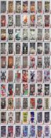 أزياء مطاطا الأكمام ركوب ركوب الأشعة فوق البنفسجية بارد مطبوعة واقية من الشمس الذراع حماية قفاز وهمية الوشم المؤقت للرجال النساء