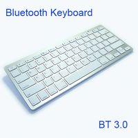 Tastiera wireless di vendita calda K801D Bluetooth3.0 tastiere per tastiere TV Android Smart Phone tablet PC vs K09