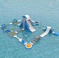 2019 أحدث مصنع السعر قابل للنفخ الحديقة المائية للمياه ألعابا معدات للبيع