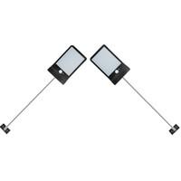 Alumínio pólo 36 Lâmpada Solar LED sem fio três modos Outdoor Luz Solar Waterproof Segurança Iluminação Para Casa Wall Street Quintal