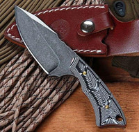 BOKE PE558 G10 Ручка 58 Full Tang нож Кемпинг ножи выживания охотничий фиксированный мульти инструмент открытый передач инструменты ножи Высокое качество!