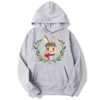 Living For Yourself Rabbit Vegan Sweatshirt Men And Women Ho...