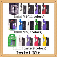 Imini V1 V2 icarts Kit mit 0,5 / 1,0 ml-Patronen vorheizen Akku Mod Fit Freiheits Cartridge Vs Vmod Palm Batterie dhl