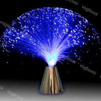 Ночные огни Измененные многоцветные светодиодные строки трубки ABS оптоволоконное освещение для вечеринки свадьба дома праздник рождественские украшения DHL DHL