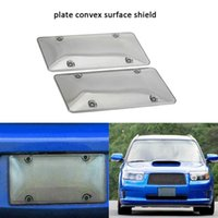 2PCS SET Clear Car License Plate Cover Frame Shields License...