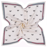 Fashion Multi Fuction Square Scarves For Women Butterfly Pri...