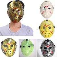 Neue Jason Voorhees Maske Freitag der 13. Horrorfilm Hockey Maske Scary Halloween Kostüm Cosplay Festival Party Maske KKA4673