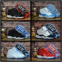 ولدت أحذية XI 11S الاطفال كرة السلة رياضة حذاء أحمر طفل الرضيع الأطفال غاما الأزرق كونكورد 11 مدربين صبي فتاة تينيسي أحذية رياضية الفضاء المربى