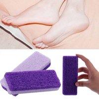 Trattamento di pulizia pietra pomice piede Exfoliating Health Care pelle guasto del callo di mais Remover Pedicure Strumenti 20 pz epacket