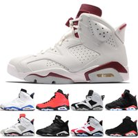 High Quality 6 6s Black Infrared 3M Reflect Carmine UNC Bask...