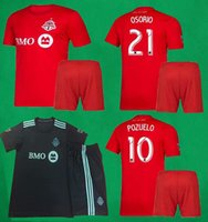 2019 Toronto Soccer Kits Home Red Football Sets 19 20 Bradle...