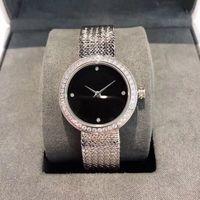 Reloj de pulsera de moda 2020 Ginebra diseñador del reloj de señoras del diamante de lujo del movimiento del cuarzo de oro regalo reloj de pulsera Montre de luxe Hembra