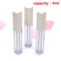 1pcs ABS Lip Gloss Box Les contenants vides clair Lip Gloss Tube Eyeliner Cils Container mini split Bouteille 3/4/5 ml