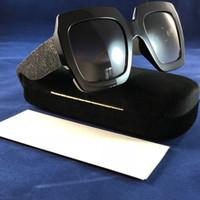 0102 beliebte sonnenbrille luxus frauen marke designer 0102s platz sommer stil vollformat top-qualität uv-schutz mischfarbe kommen mit box