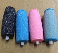 Piedi elettrici Callus Solventi teste sostituibili Foot File della pelle dura di rimozione di pedicure Strumenti per talloni screpolati e della pelle guasto KKA7807