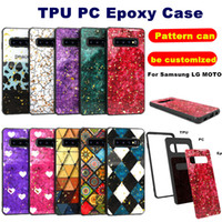 Epoxy Case For Iphone 11 Pro Max XS MAX 7 8 Samsung Galaxy N...