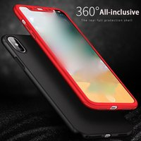 For iphone xs max phone case protective cover 360 degree ful...