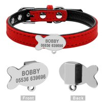 Customized Cat Collar Personalized Puppy Small Dogs ID Colla...