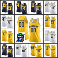 Benutzerdefinierte Michigan State Basketball Jersey 2019 Final Four Männer 23 Watson 4 Webber 11 Wilson Stitch College Michigan State Basketball Jersey