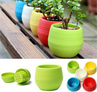Gardening Flower Pots Mini planter pots mini plastic flower ...