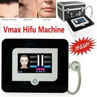 높은 강도 집중 초음파 안티 에이징 주름 제거 얼굴 리프트 VMAX HIFU 기계 3 카트리지 DHL