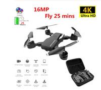 Beruf Drone 4K mit HD-Kamera WIFI 1080P Kamera Follow Me Quadcopter FPV Professionelle Drone Lange Batterie-Lebensdauer-Spielzeug für Kinder