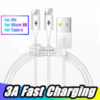 New Arrival Fast Charger Phone USB Cable 2A Type C Cable Mic...