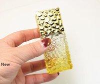 Botellas de perfume de cristal del aerosol 25ml atomizador recargable del aerosol de la botella cosmética de cristal viaje Cubo contenedor de envase de la botella nueva GGA2818