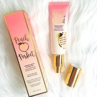 Maquiagem Fundação Peach Perfeito Comfort Matte Foundation infundido com PeachSweet Fig creme tem 3 Cores 48ml