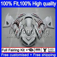 Iniezione per Kawasaki ZX 14R ZZR1400 fiamme 2006 2007 2008 2009 2010 2011 223MY.23 Red ZZR1400 ZX14R ZX14R 06 07 08 09 10 11 carenature