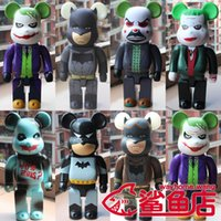 New 28cm 400% Bearbrick JOKER Batman Action Figure Collectib...