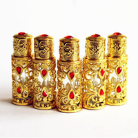 3ml Antiqued Metal Perfume Bottle Arab Style Essential Oils ...