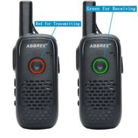 2adet ABBREE AR-Q2 Mini Walkie Talkie Radyo İstasyonu Ultra ince Çift PTT USB Şarj Çift Yönlü Telsiz Taşınabilir VOX