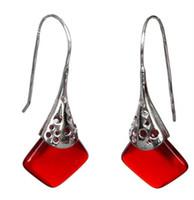"""venta al por mayor pendientes de plata 925 únicos diseñados por Lady Good 11/2 """"joyas de plata"""