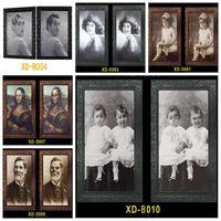 Fantasma 3D Photo Frame Horror Frames Immagini volto mutevole del fantasma di Halloween del partito della decorazione di Halloween Bar decorazione domestica Prop VT0554