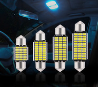 100pcs canbus Festoon 31mm c5w Car LED 36mm 41mm 3014 18LED 27LED 30LED 33LED Car Light Interior Lamp Bulb Ceiling Panel 12v