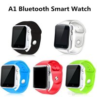 Smart Watch A1 Clock Sync Notifier Support SIM Carte SIM TF Connectivité Pour ios Android Smartwatch