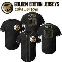 Chicago Jerseys Cachorros Golden Editio Javier Baez Jersey Anthony Rizzo Kris Bryant Ryne Sandberg 12 Kyle Schwarber Majestuoso Alternativo Royal