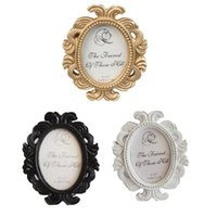Retro Decorative Flower Photo Frame Wedding Home Decor Deskt...